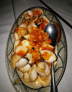 Mussels in a Sweet & Sour Sauce